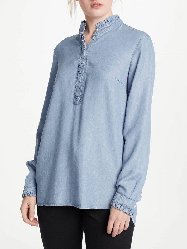 Oui Denim Ladies Boutique Shirt Tralee
