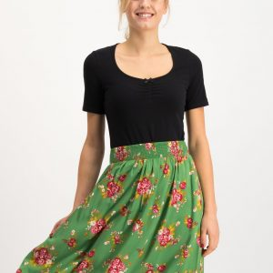 Ladies green skirt vintage
