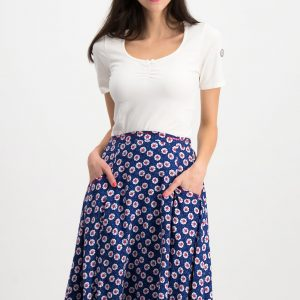 Ladies Skirt Floral Occasion Wear