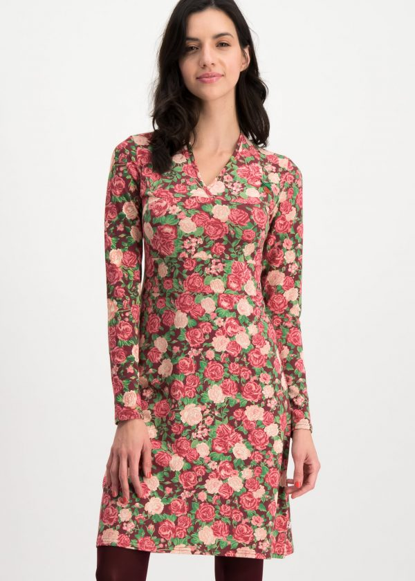 Jersey Dress Floral Tralee