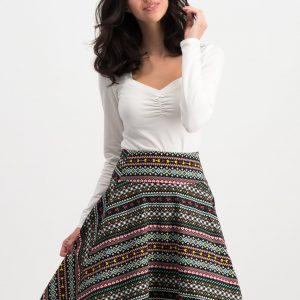Ladies vintage swing skirt retro