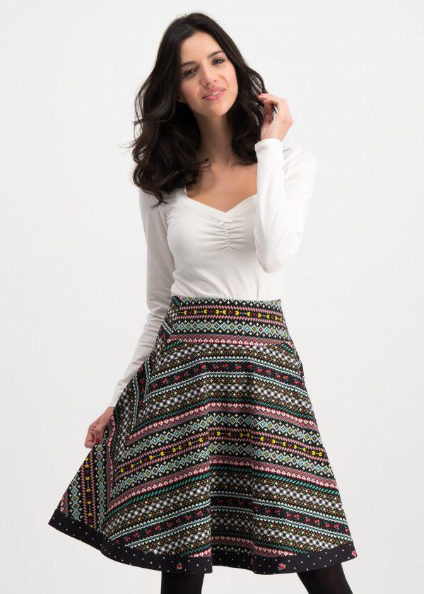 Ladies vintage swing skirt retro