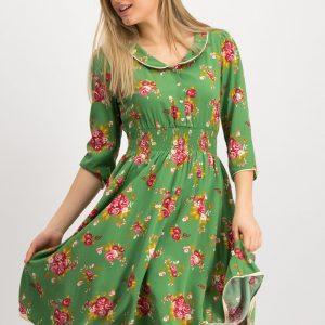 Blutsgeschwister Vintage floral occasion dress