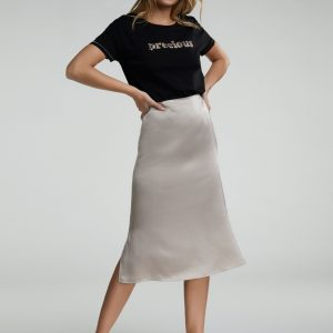 Oui Midi Length Skirt