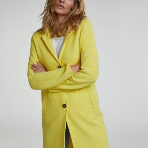 Oui Egg Shaped Wool Blend Coat Boutique