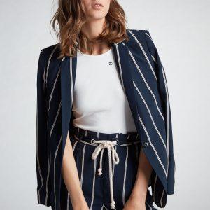 oui blazer with sailor stripes