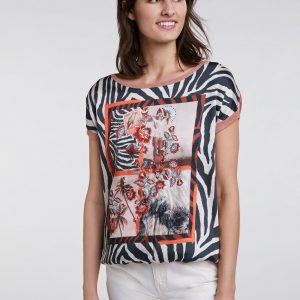 Oui Print Top Ladies Boutique Tralee