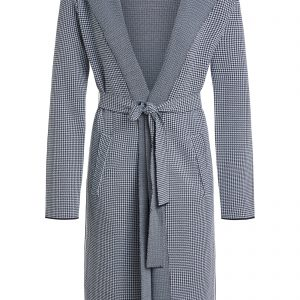 Oui knitted coat houndstooth ladies boutique