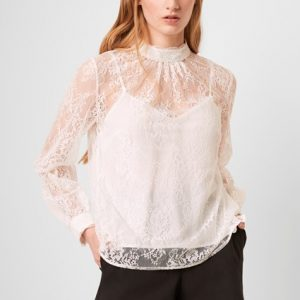 French Connection Apunda Lace Top