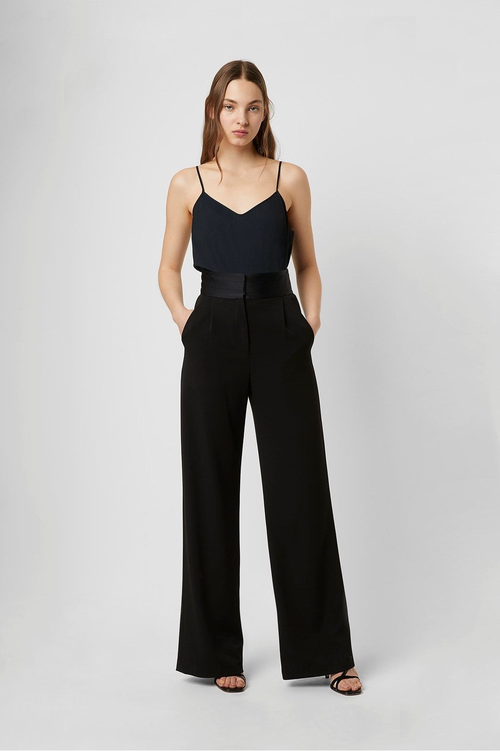French Connection Tracey Jersey Crepe Cami Bodysuit