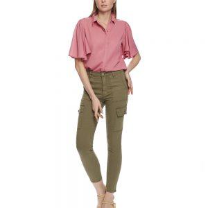 khaki cargo trousers pants