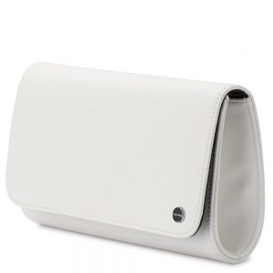 Olga Berg white clutch handbag boutique Tralee