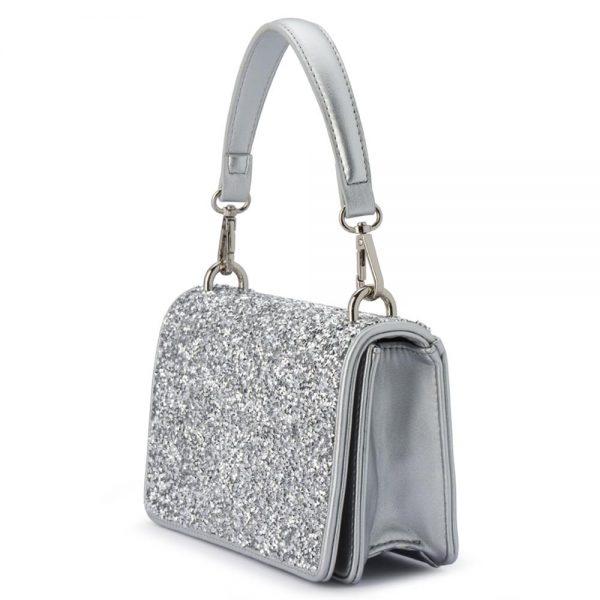 Olga Berg Clutch Bag Silver Wedding Wear