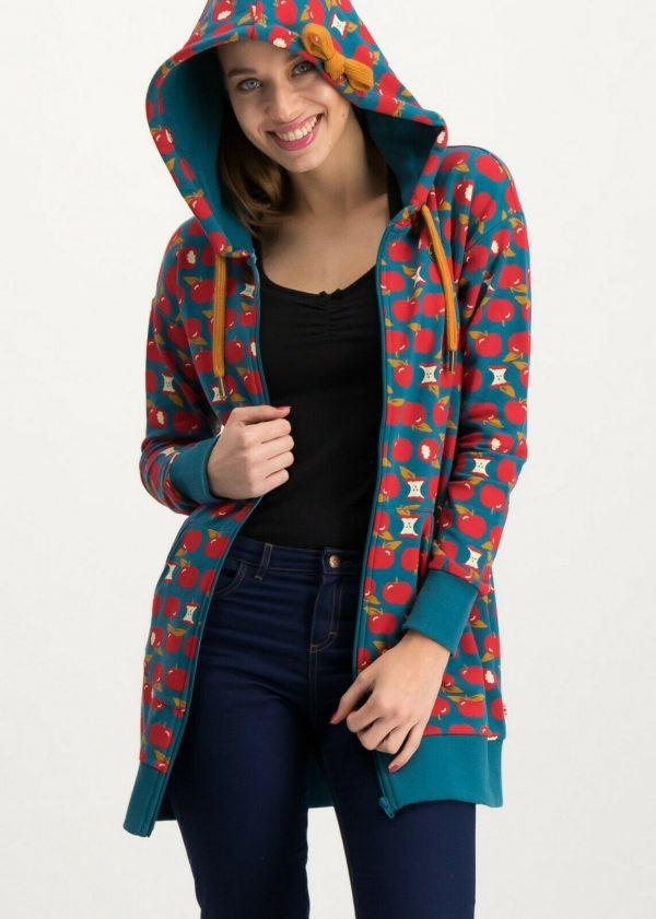 Ladies zip top hoodie