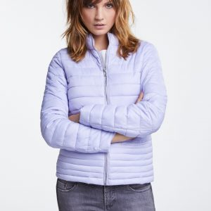 oui purple heather quilted jacket Tralee