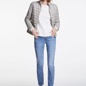 oui navy quilted jacket Tralee