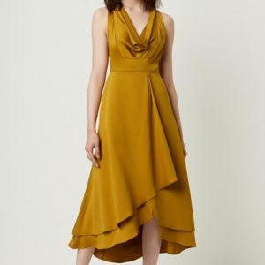French Connection Cowl neck dress