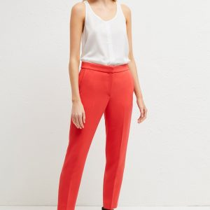 french connection coral tailored trousers