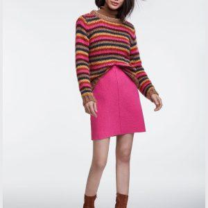Oui pink skirt