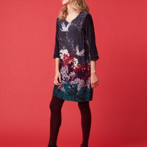 Whitestuff Dress with velvet Effigy Tralee