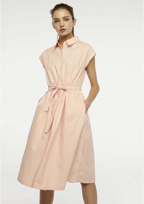 pink shirt dress occasion wedding