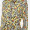 Striped shirt dress midi Tralee Boutique
