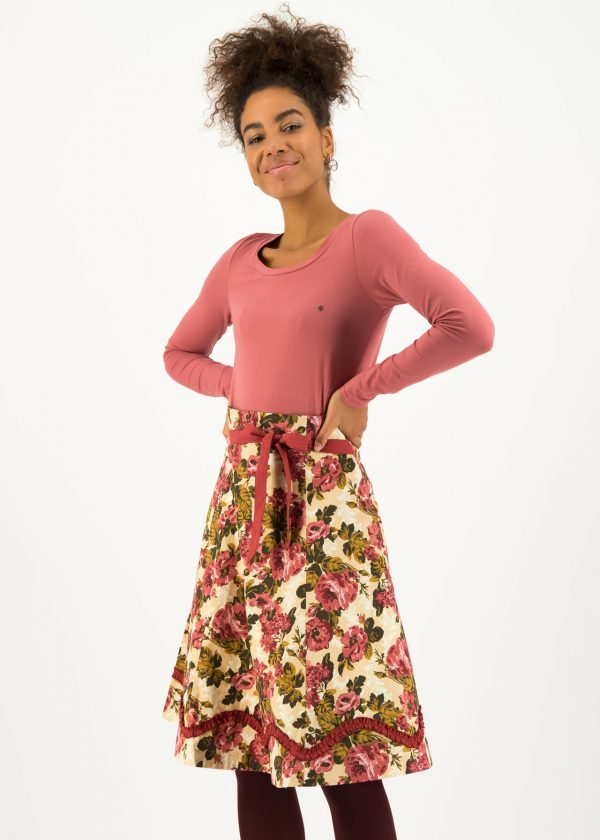aline swing skirt organic