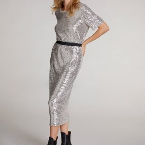 oui sequin skirt effigy