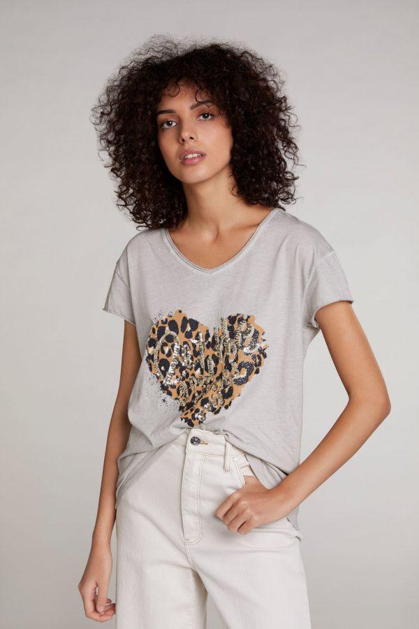 oui organic cotton tshirt top Tralee