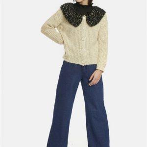 vintage style knit cardigan Effigy