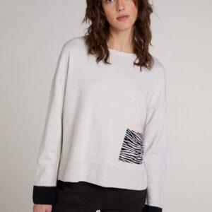 oui zebra knit