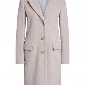 oui taupe wool coat
