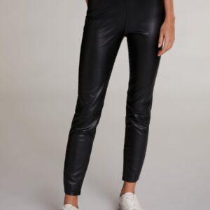 oui faux leather leggings