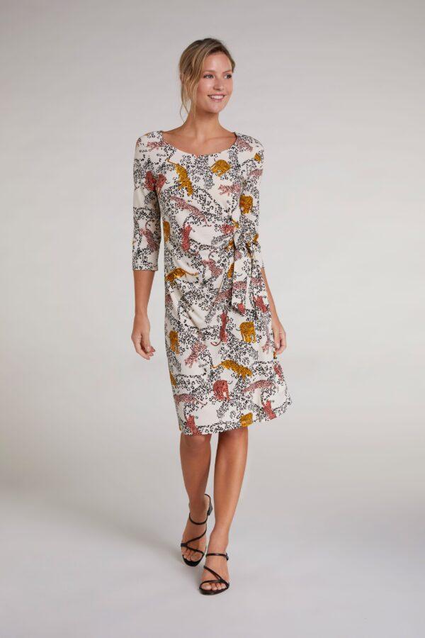oui wrap style dress
