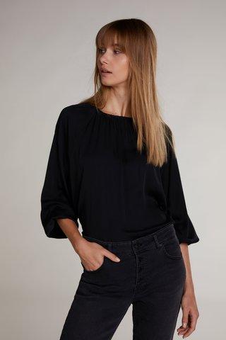 oui black blouse