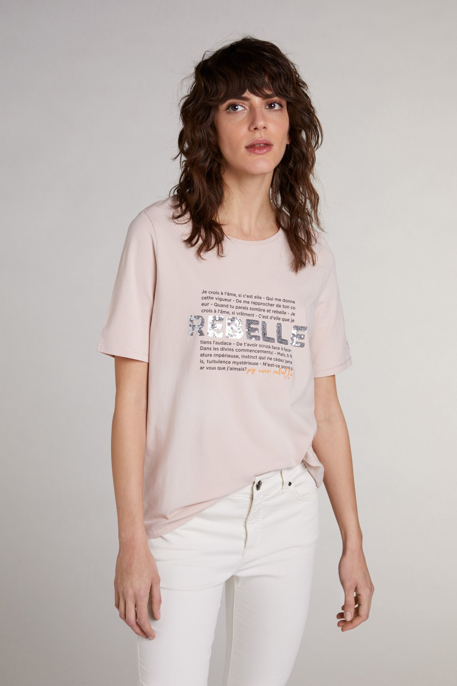 oui t-shirt with sequins