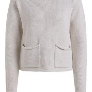 oui beige knit