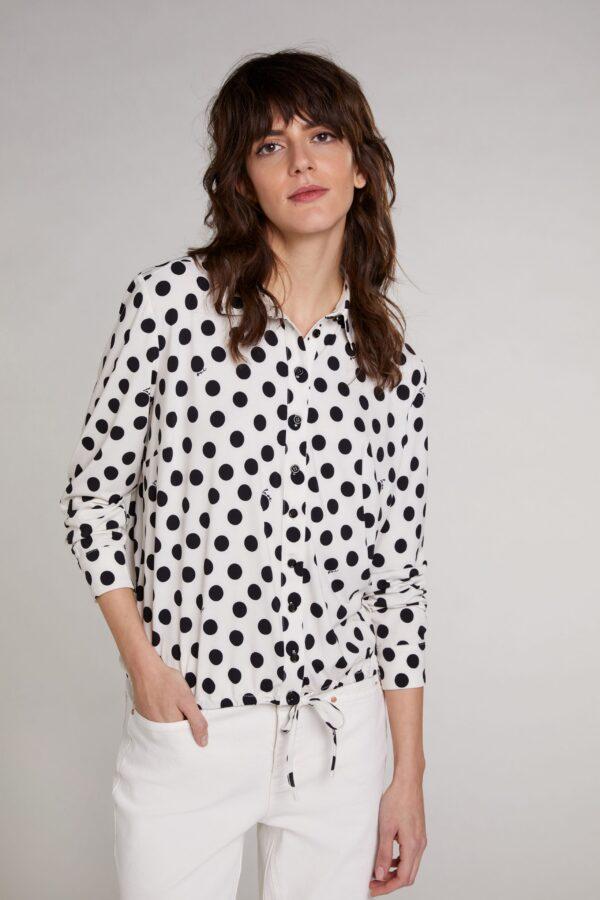 oui spot blouse top