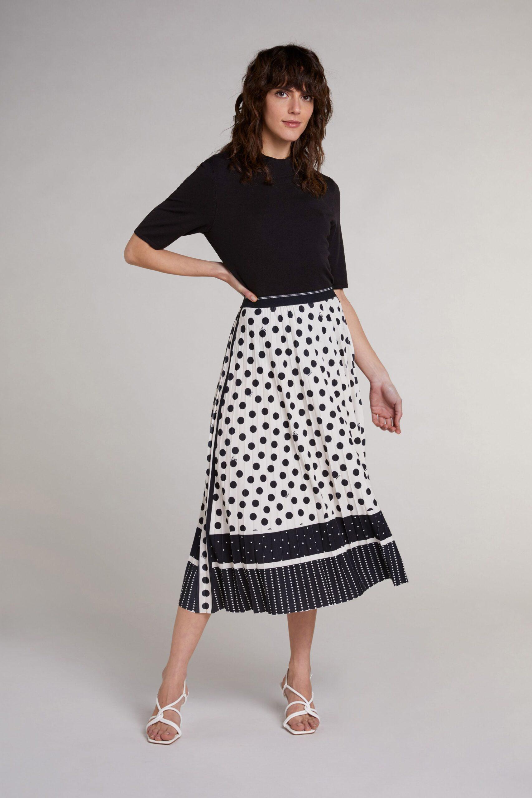 oui pleated skirt effigy