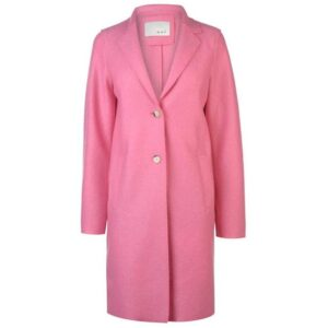 oui boiled wool coat