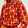 ong sleeve womens blouse effigy