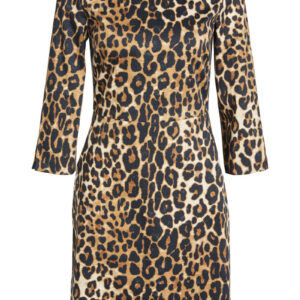 oui leopard print dress