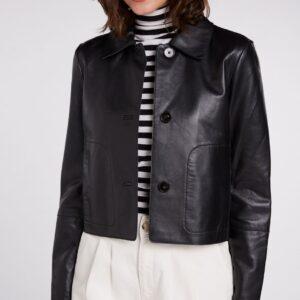 oui leather jacket effigy