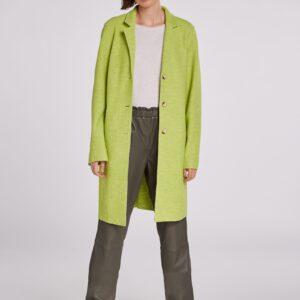 oui boiled wool coat