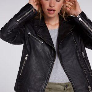 oui leather jacket