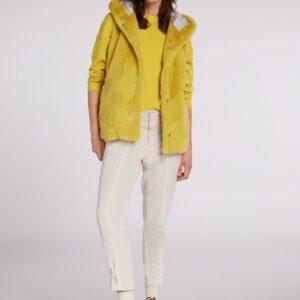 oui faux fur jacket