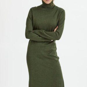 Saint Tropez polo knit dress